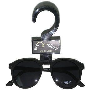 Art Class Boys Black Cabana Round Sunglasses OSFM